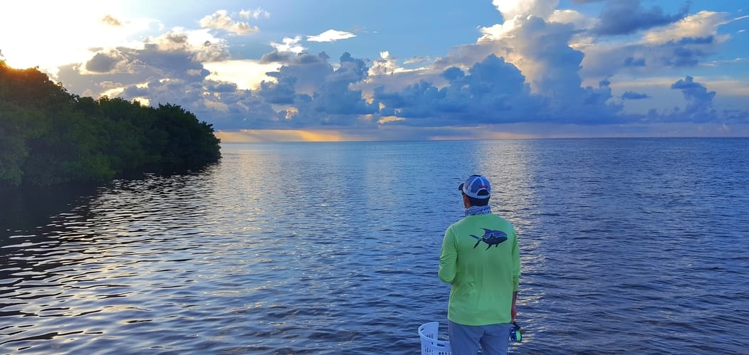 Big Pine Key fly fishing Bahai Honda bridge for tarpon