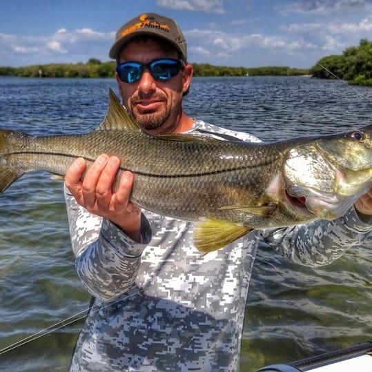 flats fishing for snook near Marathon Key
