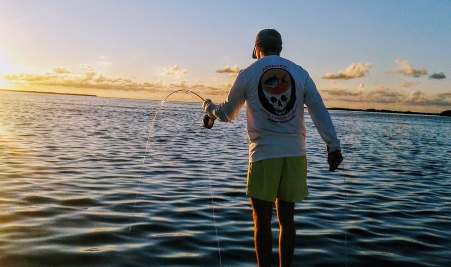fly fishing the Florida Keys for tarpon