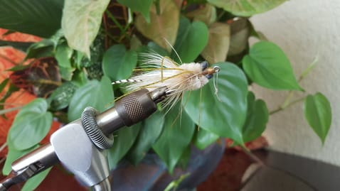 Flies for fly fishing for permit