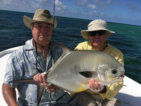 fly fishing for permit in Cudjoe Key