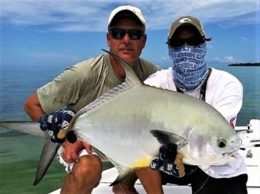 fly fishing for permit in the Florida Keys with Epic Tides Charters