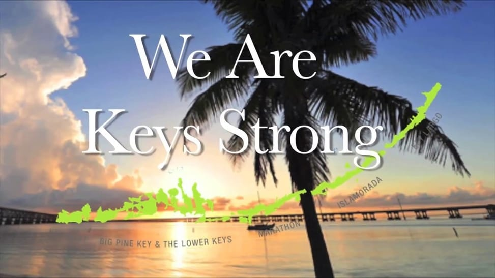 Hurricane Irma Hits The Florida Keys