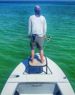 fly fishing for tarpon poling method